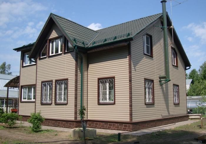 Отделка домов сайдингом1