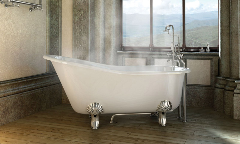 Достоинство чугунных ванн