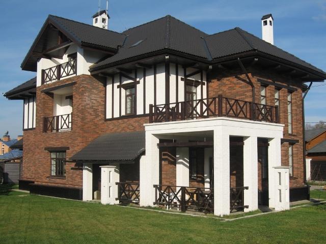 современный загородный дом