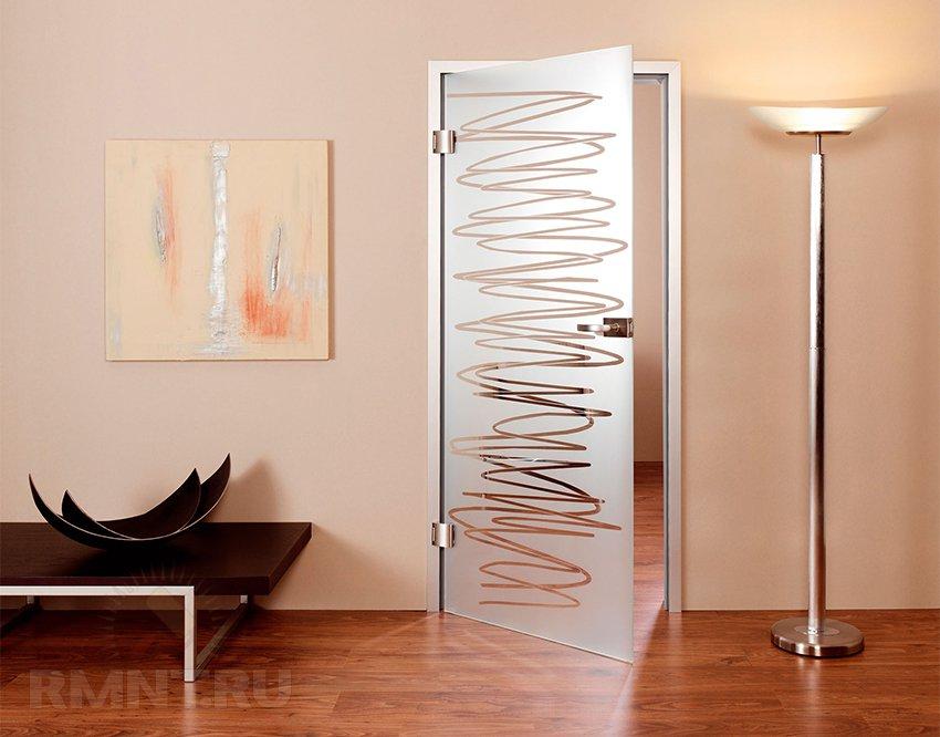 Выбор межкомнатных дверей недорогих стеклянных