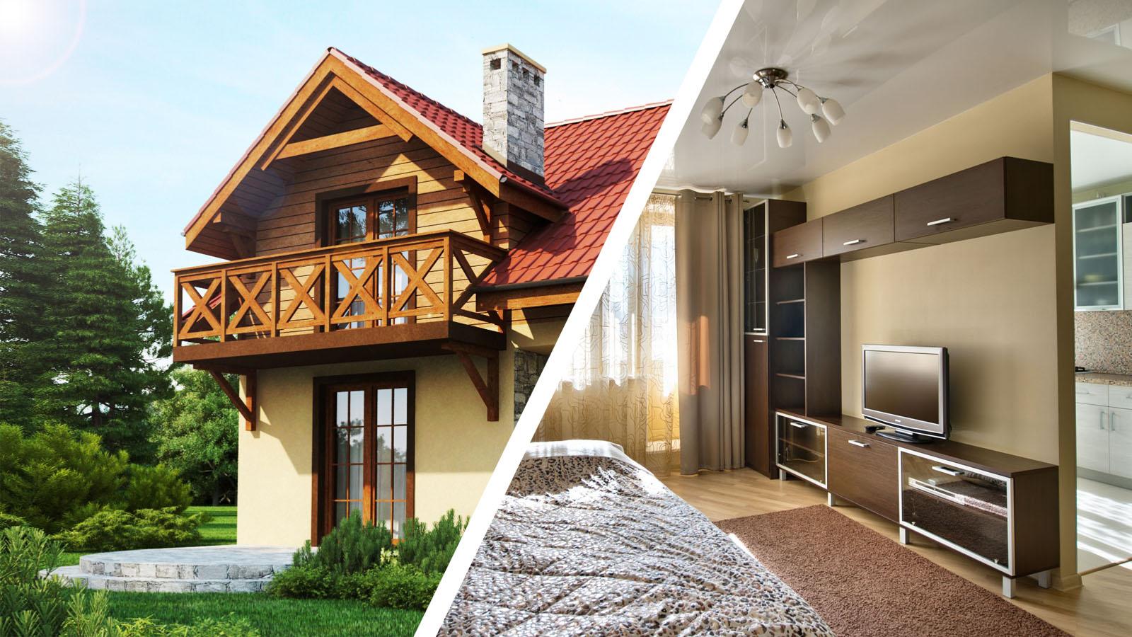 Что лучше: дом или квартира1