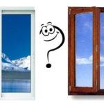 деревянные или пластиковые окна?