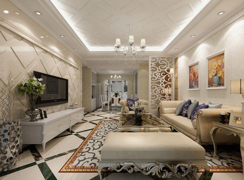 классический стиль гостиная