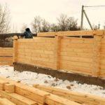 строительство бани из профилированного бруса своими руками