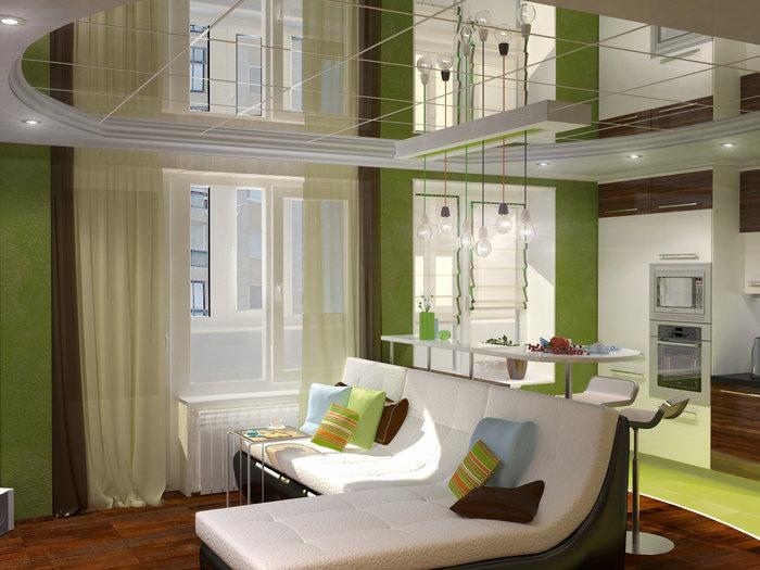 визуально увеличиваем комнату