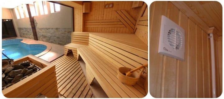 вентиляция в бане и ее особенности