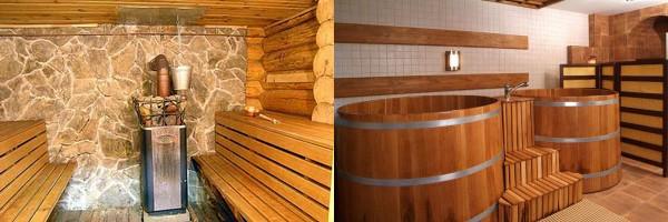 для бани внутренняя отделка важна не меньше, чем конструкция стен