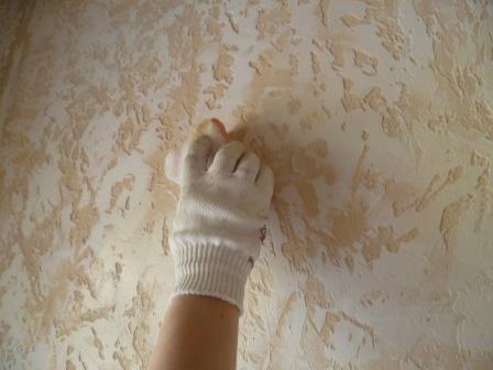 Рельефная штукатурка своими руками фото 30