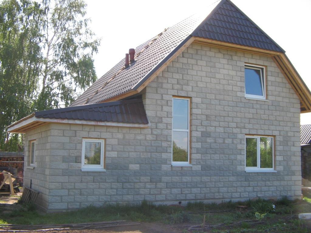 Построить дом из шлакоблока своими руками