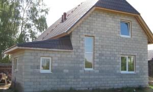Как построить дом из шлакоблока своими руками