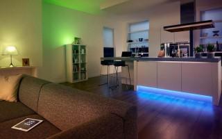 Светодиодное освещение – идеальное решение для любого интерьера
