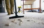 С чего начать уборку после ремонта