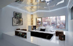 Зеркальный потолок в интерьере