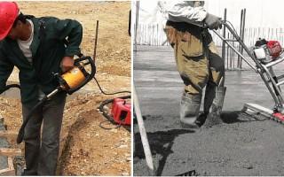 Уплотнение бетонной смеси: какое оборудование используется на практике?
