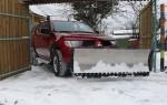 Качественная уборка снега на даче