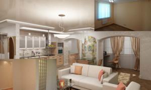 Внутренняя отделка квартир, варианты и виды внутренней отделки.