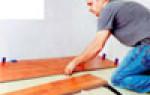 Как правильно стелить ламинат, укладка ламината на деревянный пол.