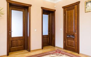 Покупка и установка межкомнатных дверей