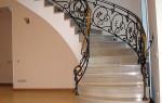 Металлические ограждения для лестниц: изготовление и установка своими руками