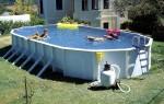 Виды сборных бассейнов, их установка и эксплуатация