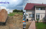 С чего начинать строить дом, поэтапное строительство дома.