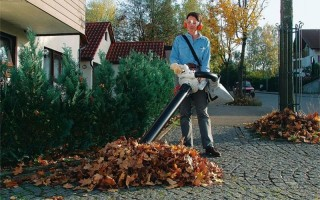 Как правильно выбрать садовый пылесос?