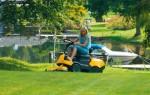 Как выбрать садовый трактор или райдер
