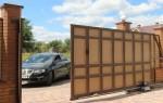 Почему удобны откатные ворота?