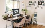 Как организовать дома рабочий уголок