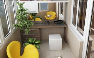 Лоджия, как часть жилого пространства
