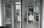 Достоинства алюминиевого профиля для раздвижных дверей