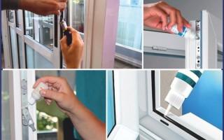 Особенности ухода за пластиковыми окнами