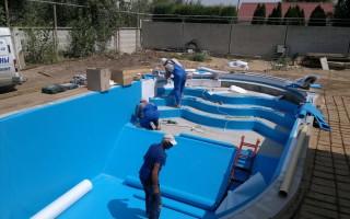 Строительство бассейнов, отделка бассейна