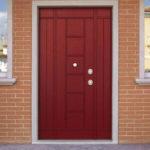 Установка входной двери из металла1