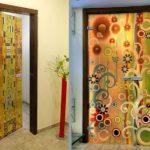 Замена декора старой двери