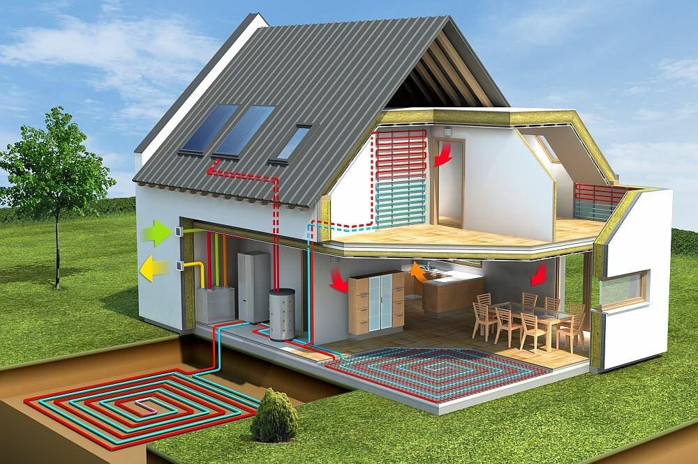 Энергосберегающие технологии в постройке доме