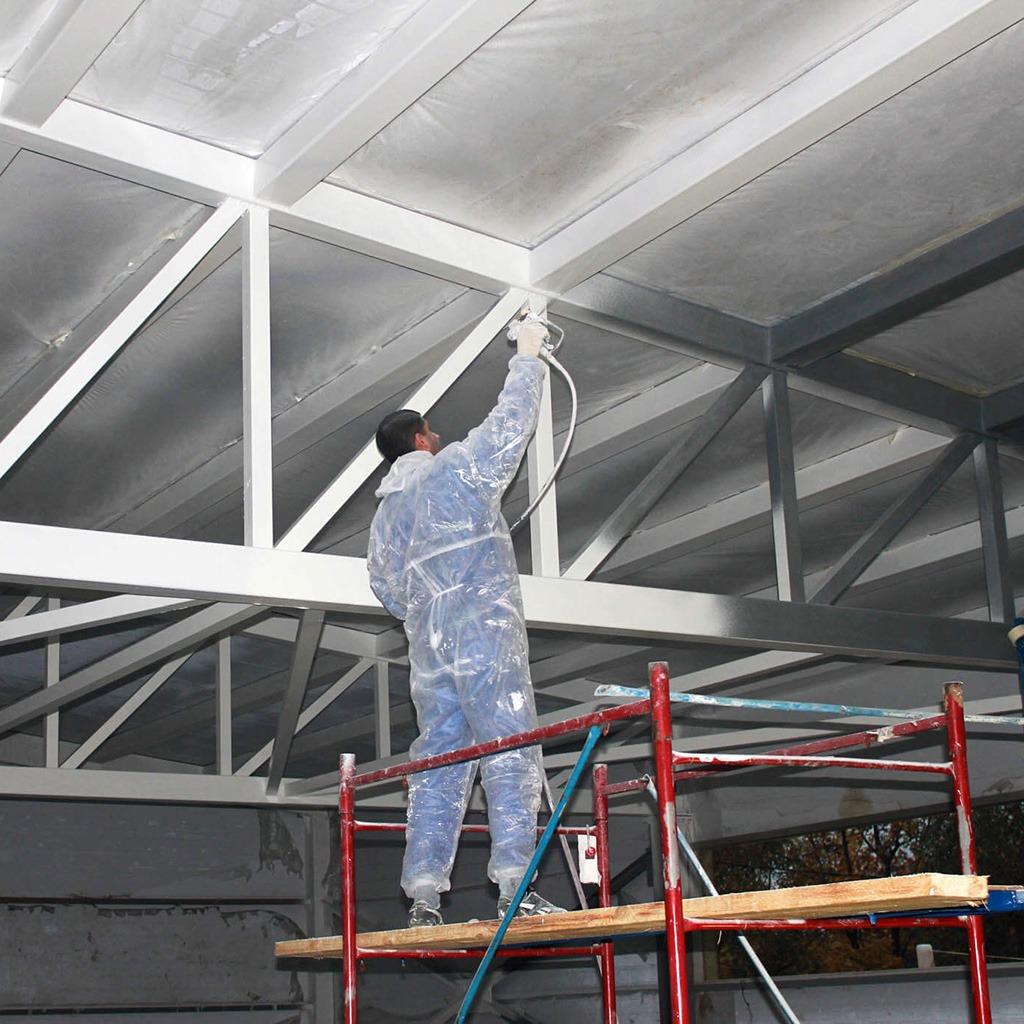 Обеспечение пожарной безопасности – огнезащита металлоконструкций