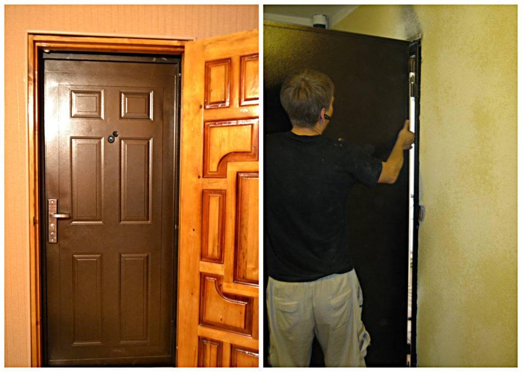 Стоит ли ставить в квартире металлическую дверь