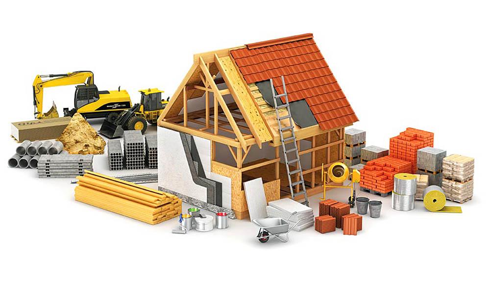 Строительные материалы - самые главные помощники в строительстве дома