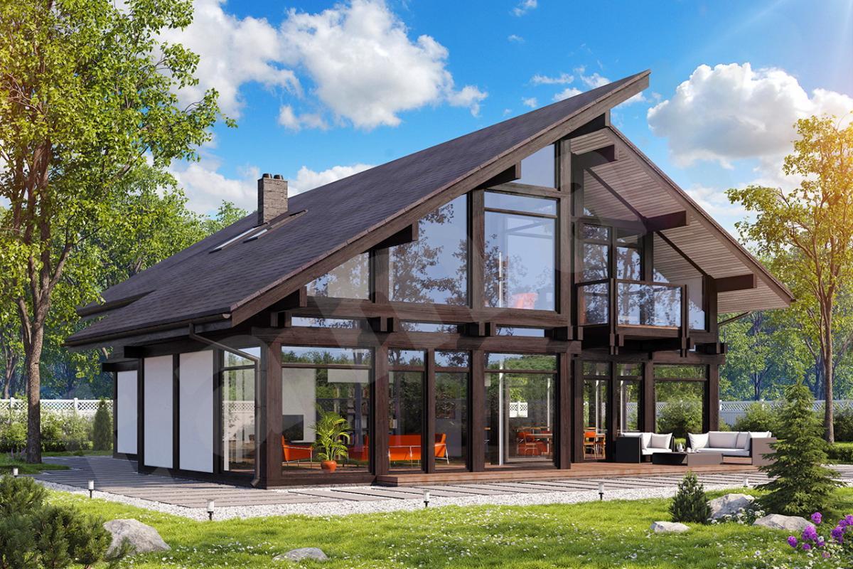 Строительство фахверковых домов под ключ. Современно, удобно и красиво!