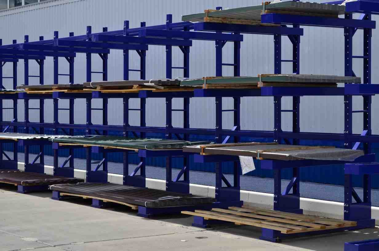 Технология производства стеллажей