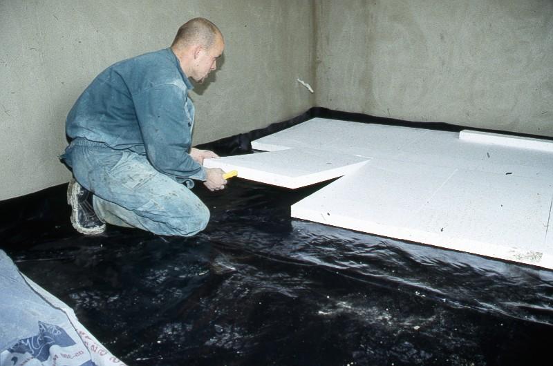Утепляем пол из бетона