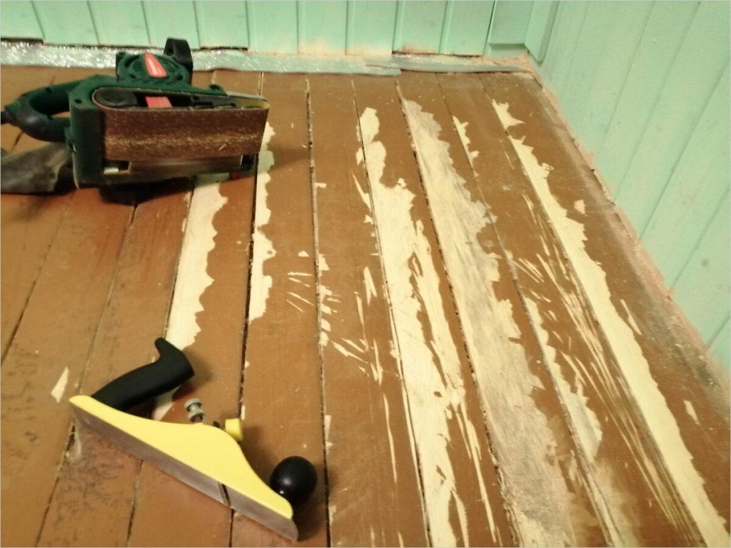 Восстанавливаем деревянные полы своими руками