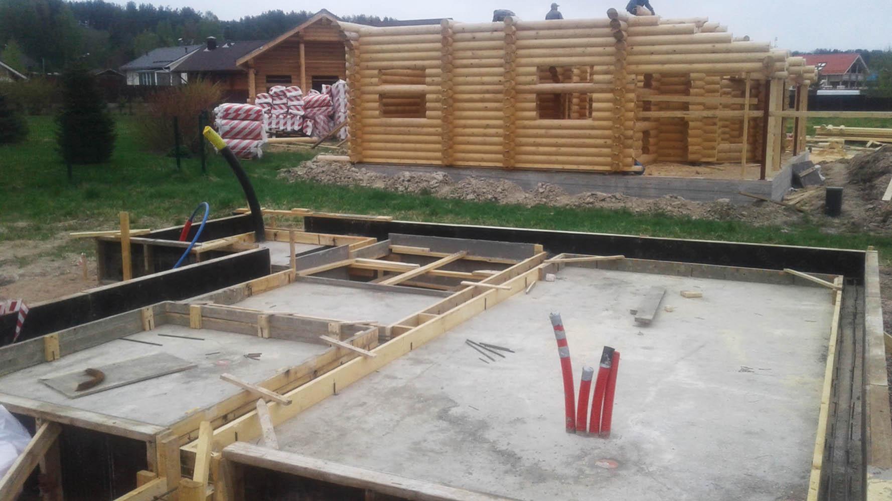 Выбираем фундамент под деревянный дом