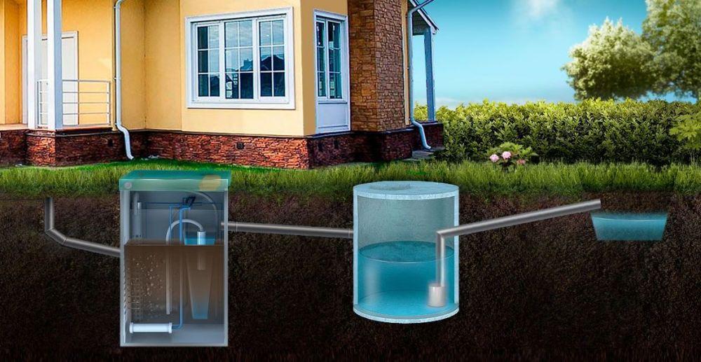 Выбор канализации для дачного дома