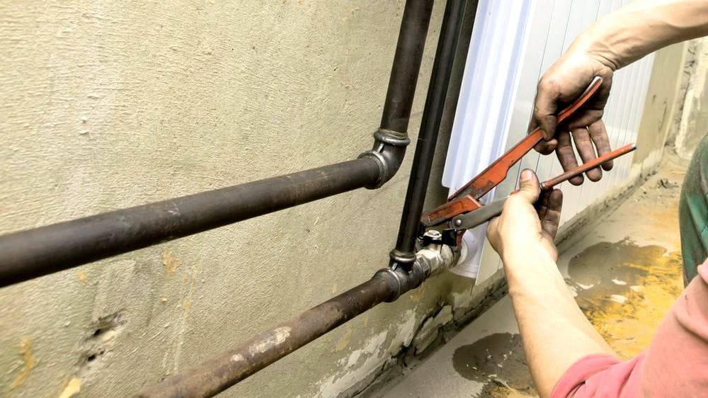 Замена всей водопроводной системы на трубы из стали