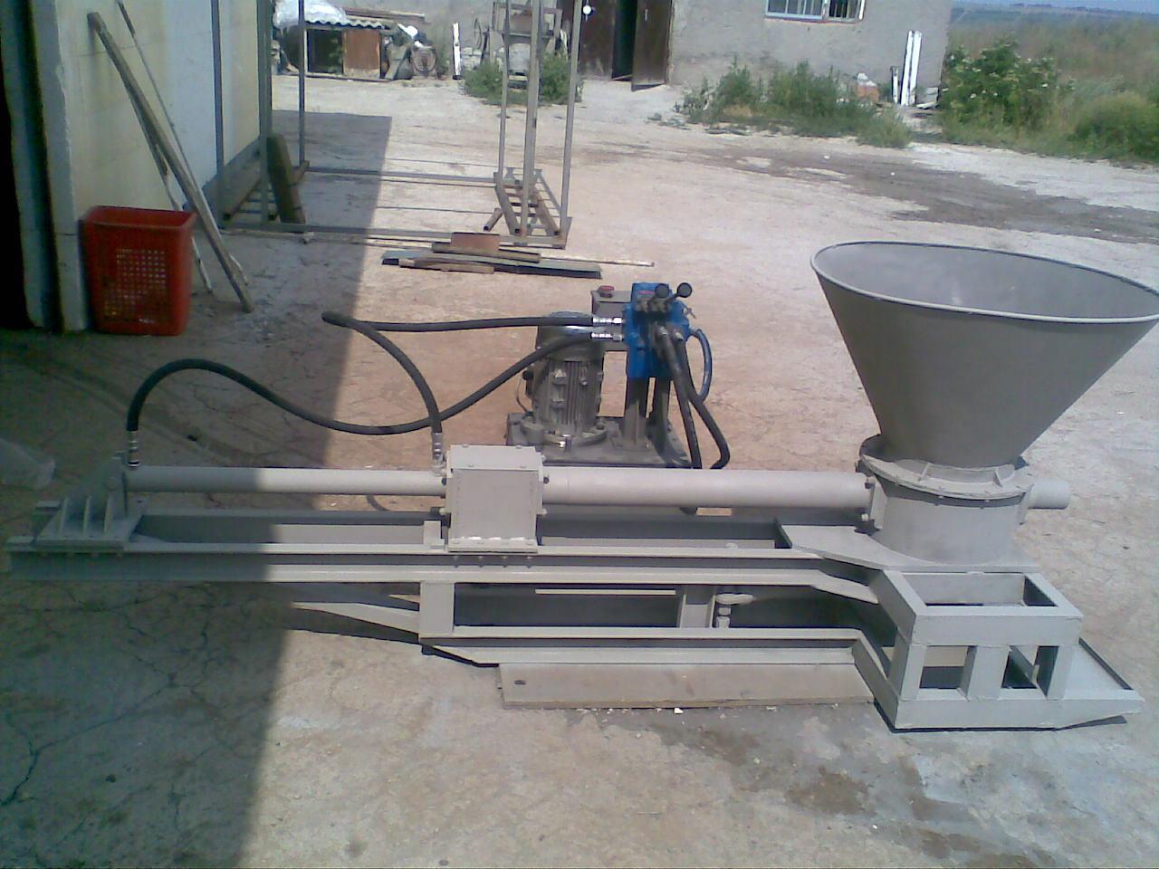 как самому сделать бетононасос
