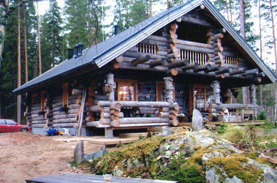 финляндия дома из сухой сосны фото домашних